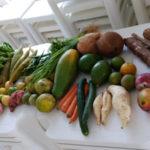 Entrega de verduras, frutas e legumes